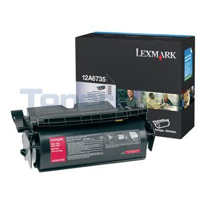 LEXMARK T520 TONER CARTRIDGE BLACK 20K